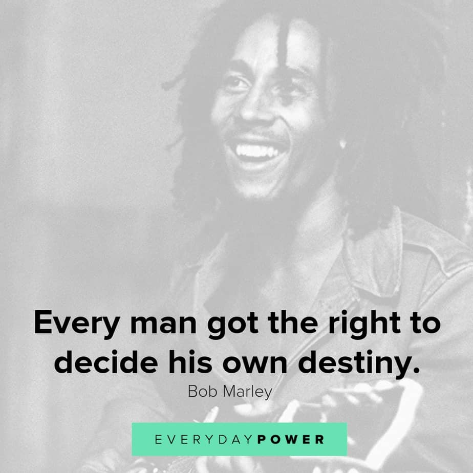 bob marley quotes celebrating love peace life