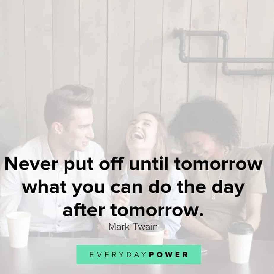 funny inspirational quotes on procrastination