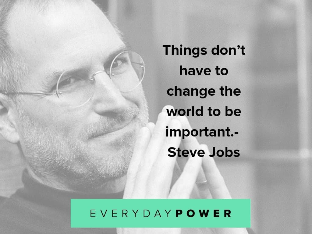 steve jobs quotes about change