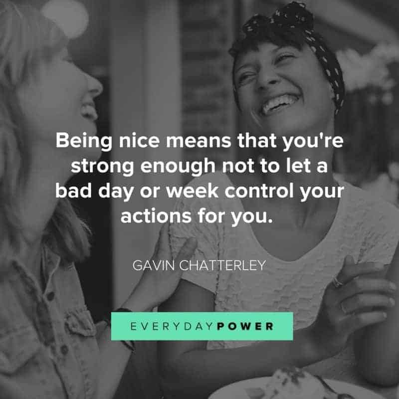 Why being nice doesn't mean you're being weak