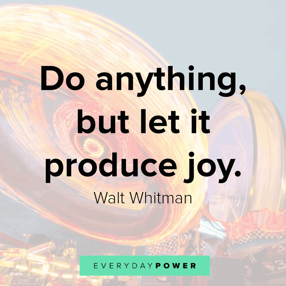 quotes about having fun and producing joy