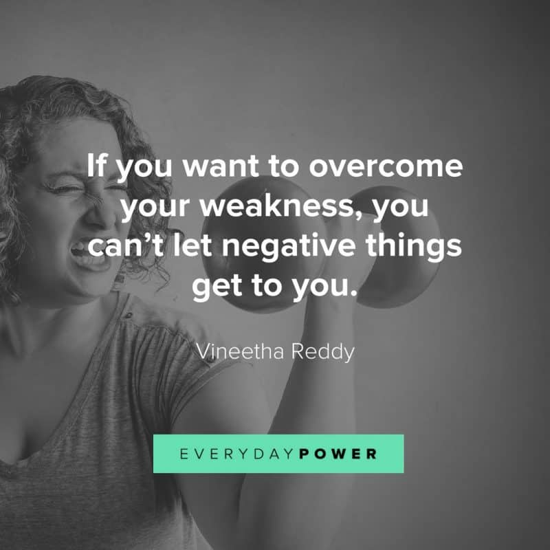 How successful people overcome weakness