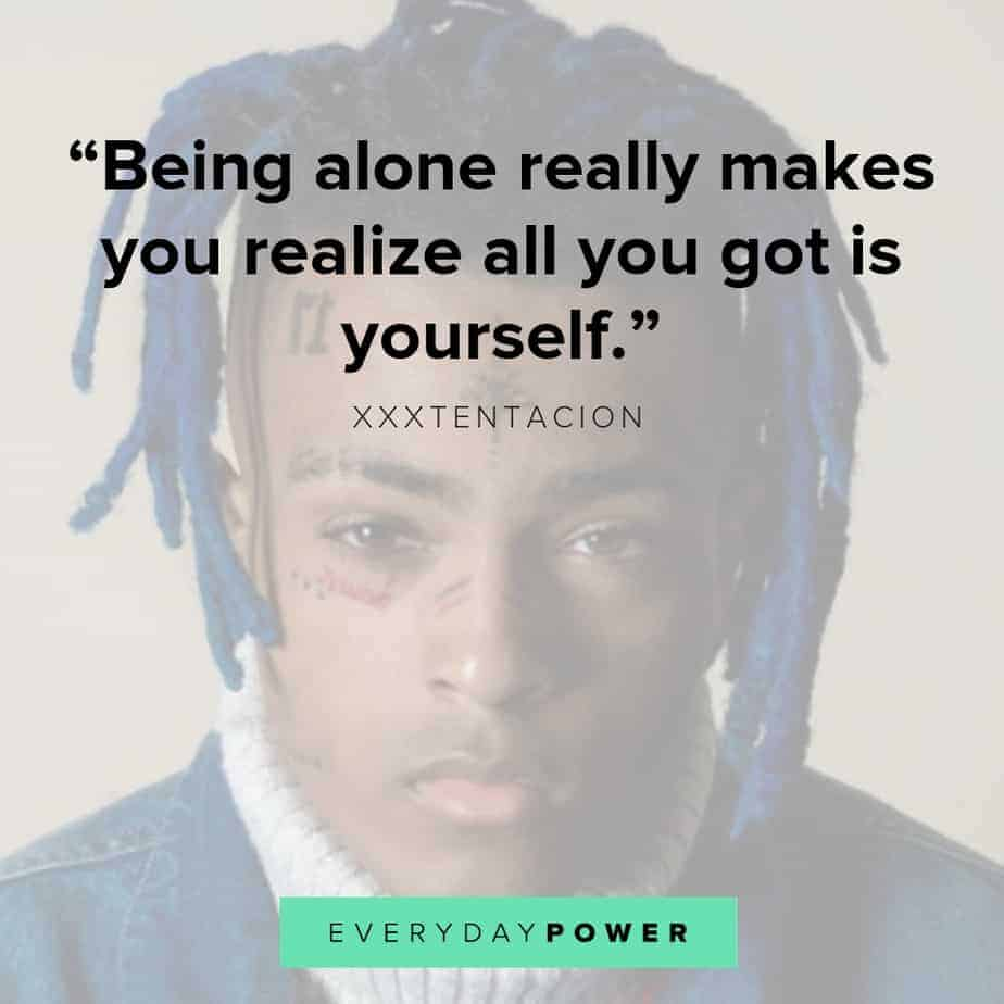 XXXTENTACION quotes sad