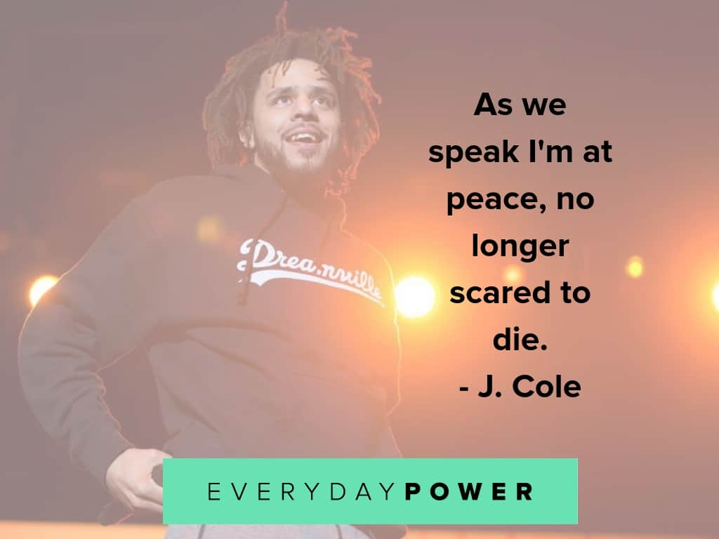 j cole quotes on peace