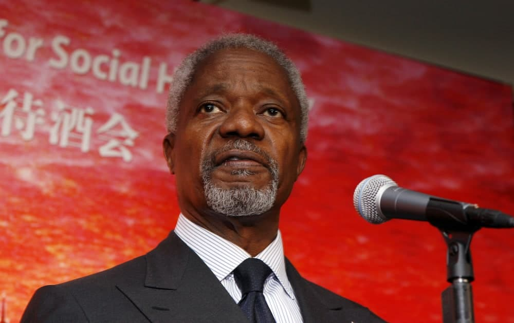 Kofi Annan Quotes On Leadership, Education and Rights
