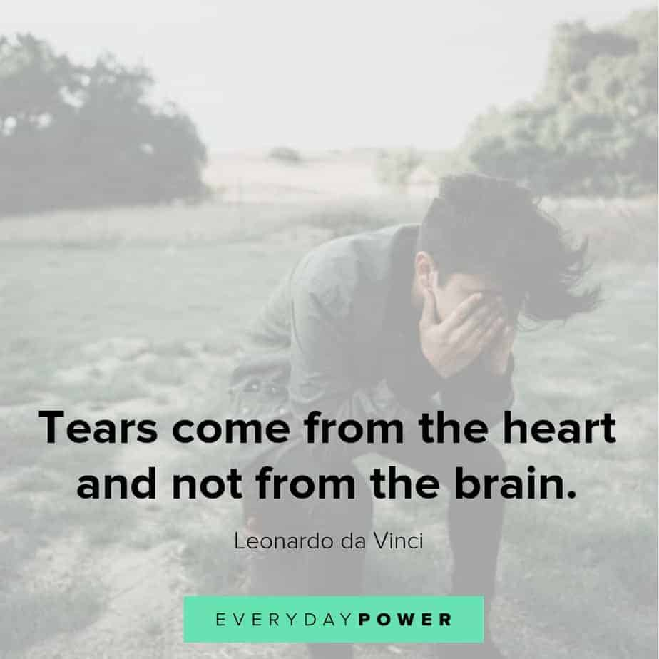 sad love quotes about tears