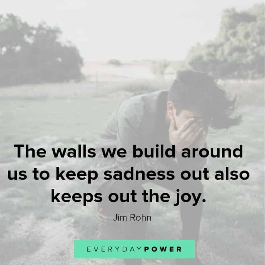 sad love quotes about joy