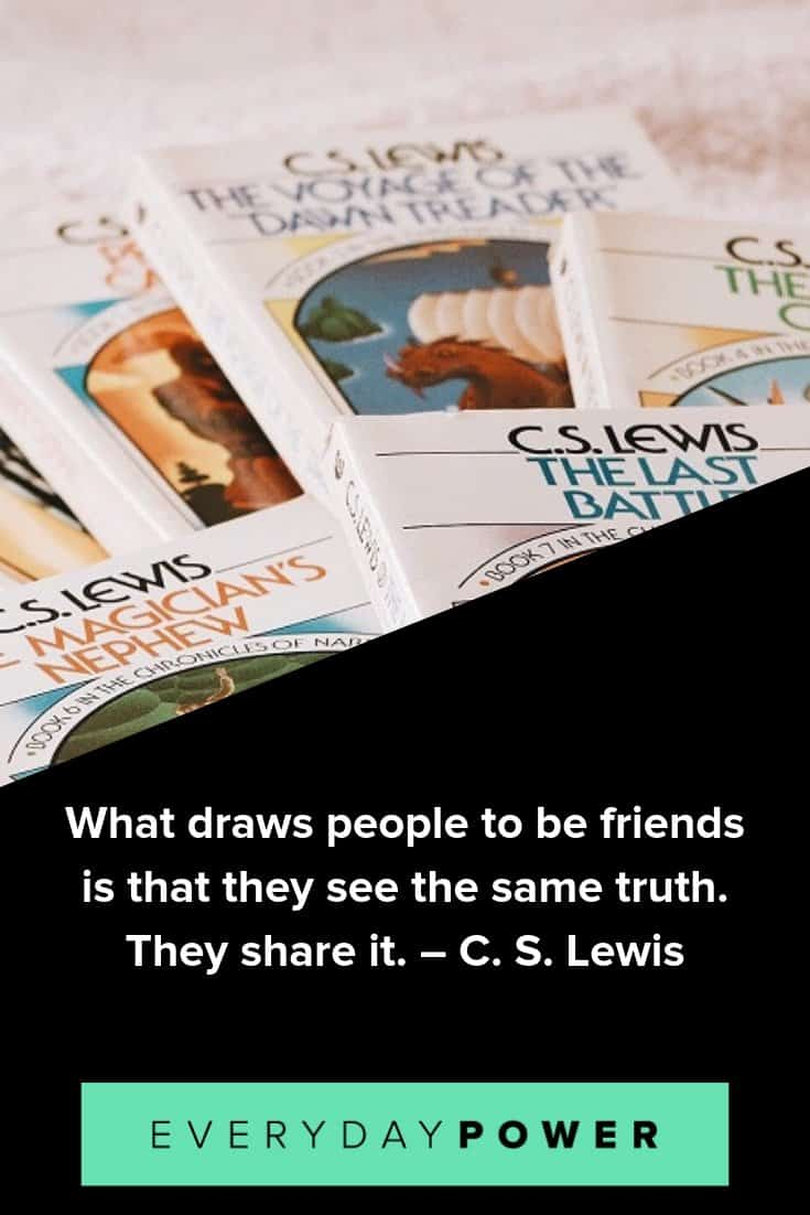 90 C S Lewis Quotes About Love Faith God Life 2020