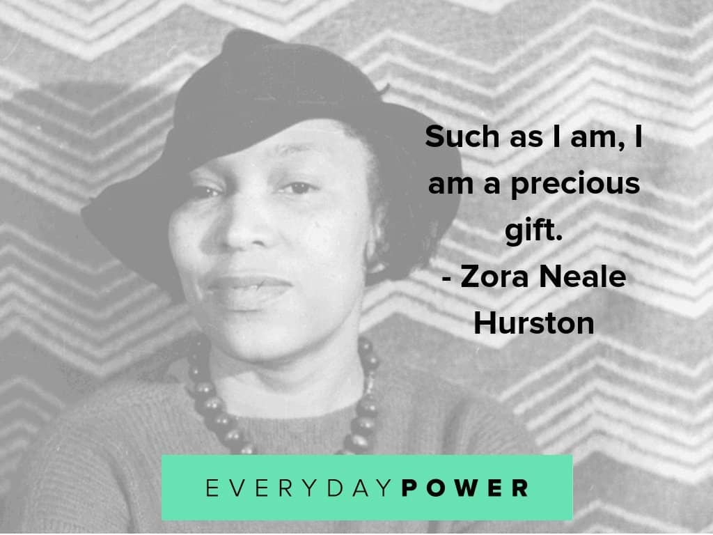 Zora Neale quotes on being precious