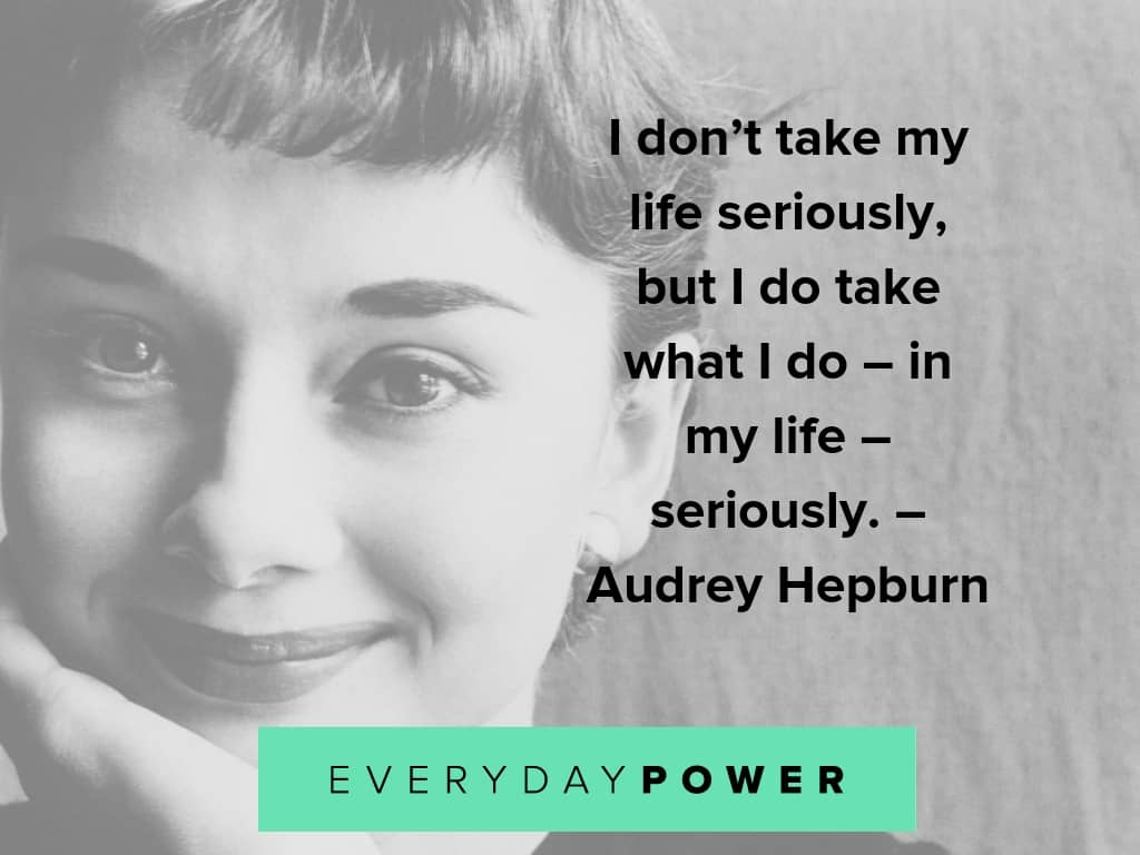 50 Best Audrey Hepburn Quotes On Life, Style and Children (2019)