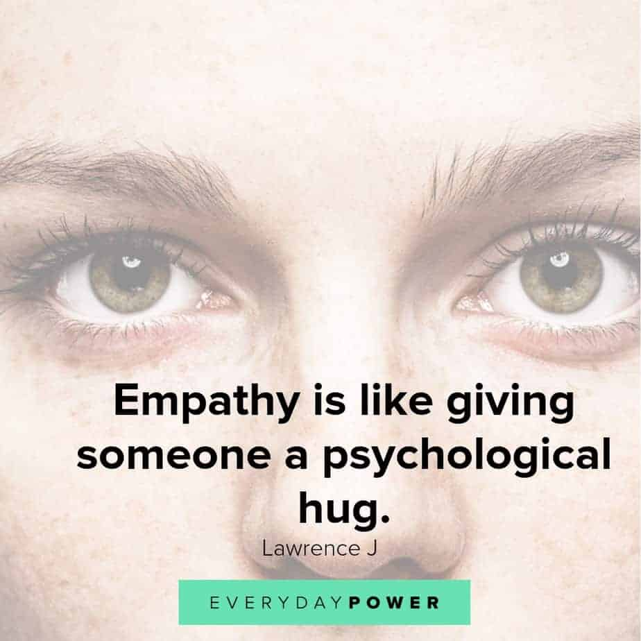 empathy quotes on what it's like
