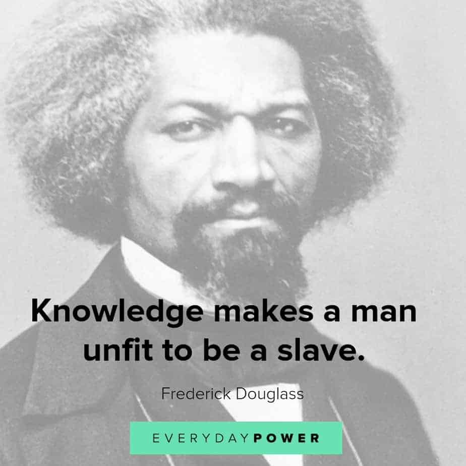 frederick douglass quotes about knowledge