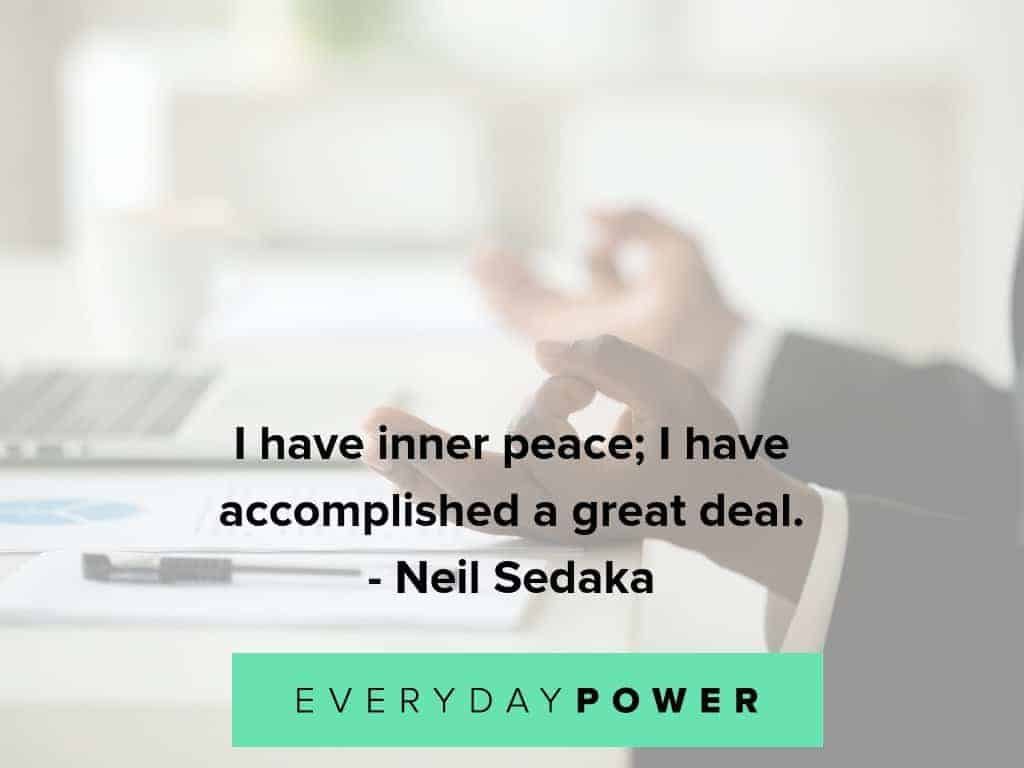 inner peace quotes about accomplishments