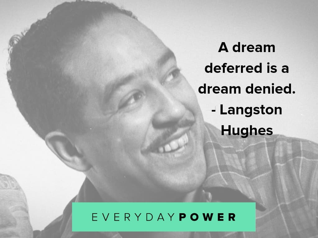 langston hughes quotes about life