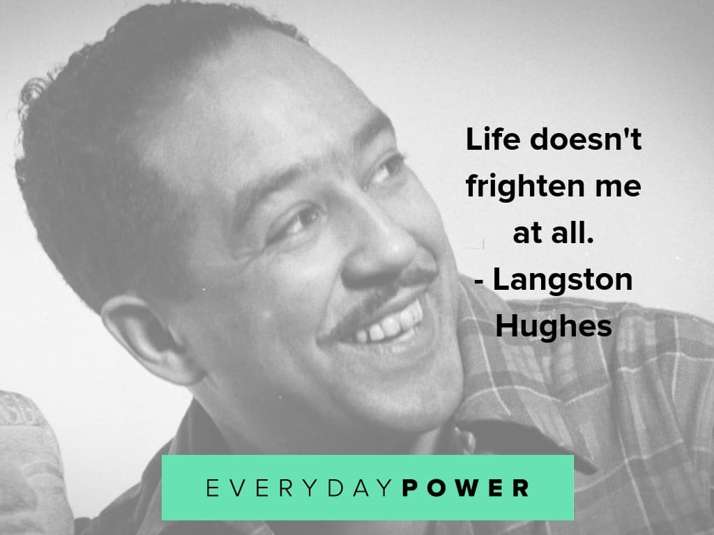 langston hughes quotes on life