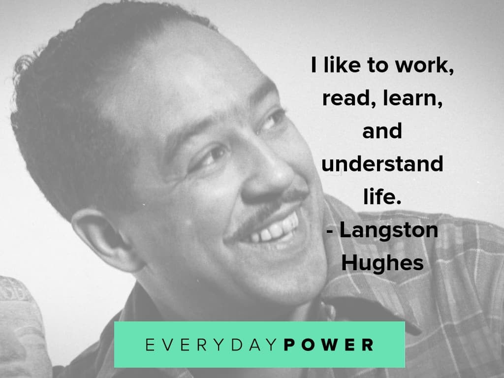 langston hughes quotes on learning