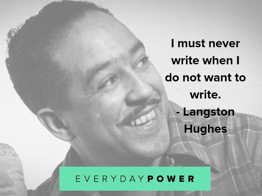 langston hughes quotes on doing what you want