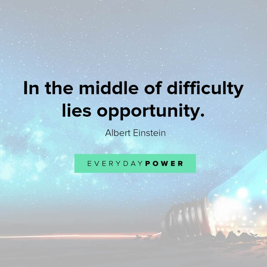 meaningful quotes about opportunities