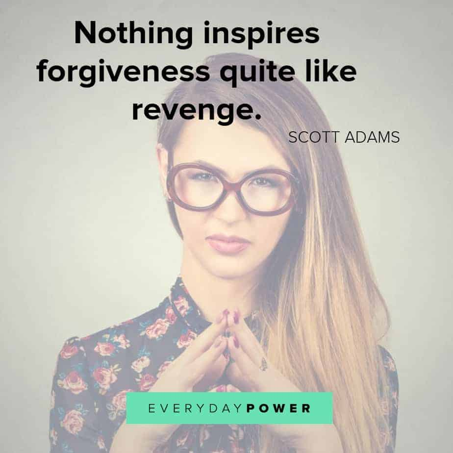 revenge quotes on what it inspires