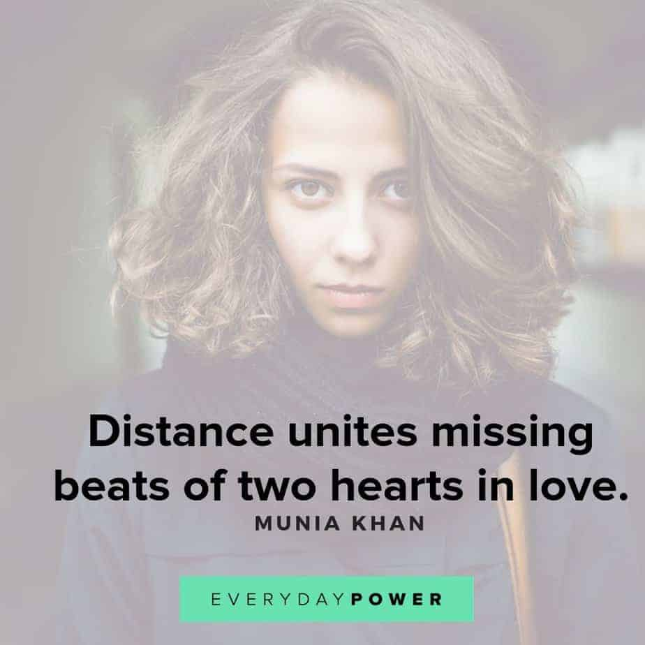 missing someone quotes about distance