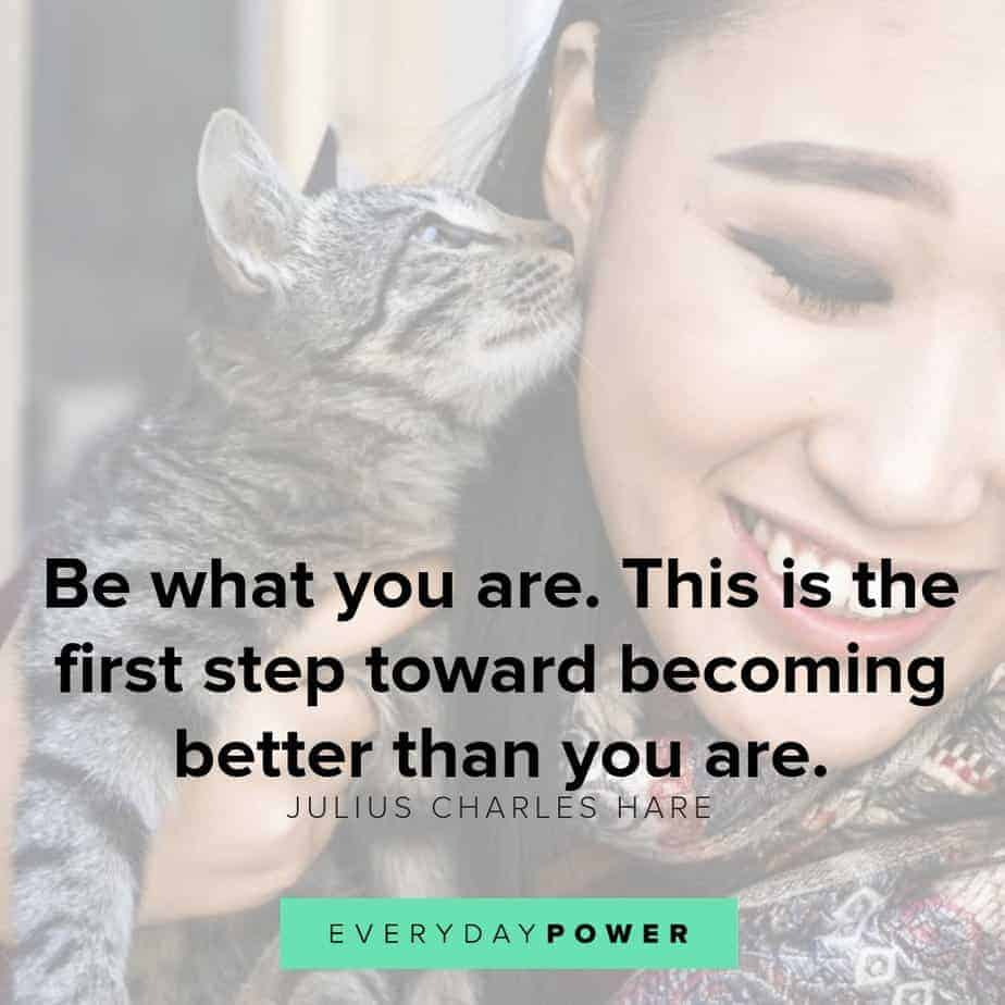 be yourself quotes on becoming better