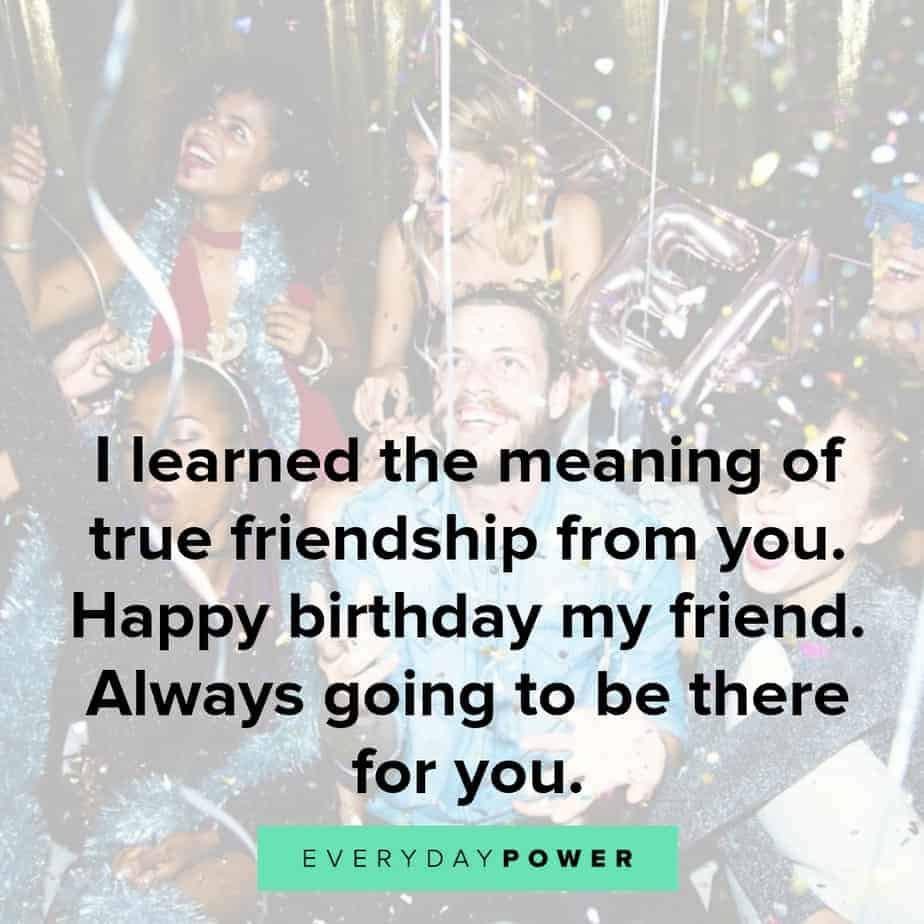 75 Happy Birthday Quotes & Wishes For a Best Friend (2020)