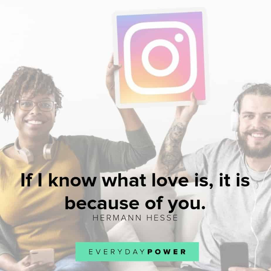 quotes for instagram about knowing love