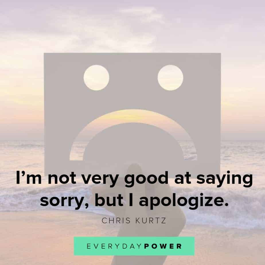 50 I'm Sorry Quotes for When You Can't Find the Right Words