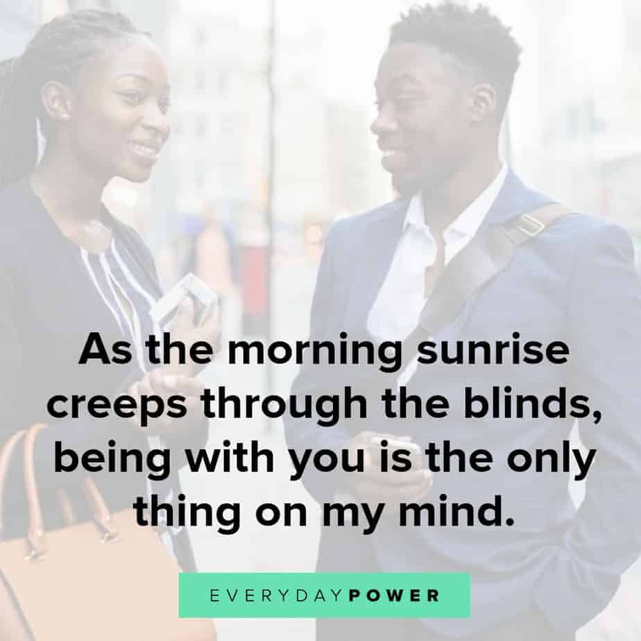 beautiful good morning quotes for him
