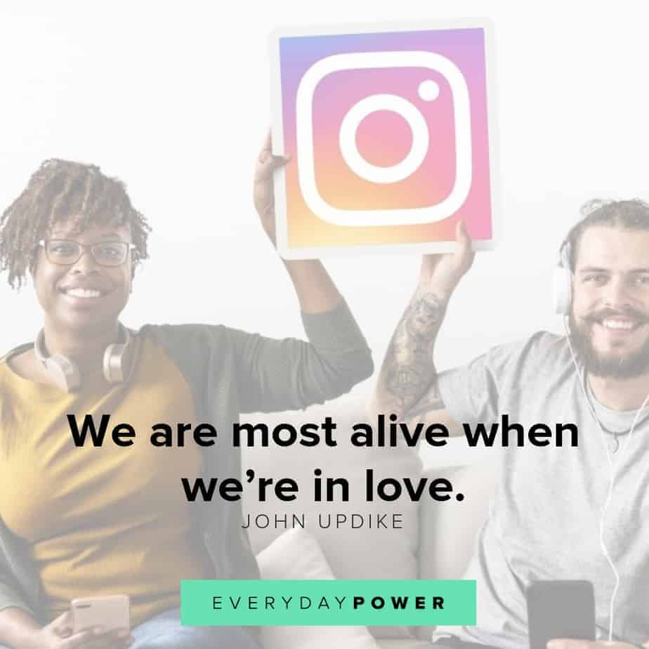 quotes for instagram about being alive