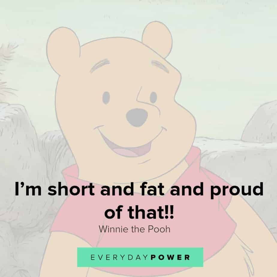 Winnie the Pooh quotes about self love