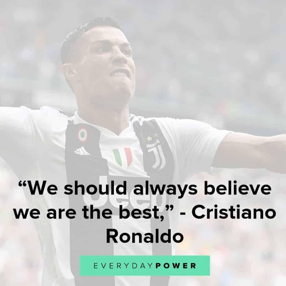 cristiano ronaldo quotes to inspire self confidence