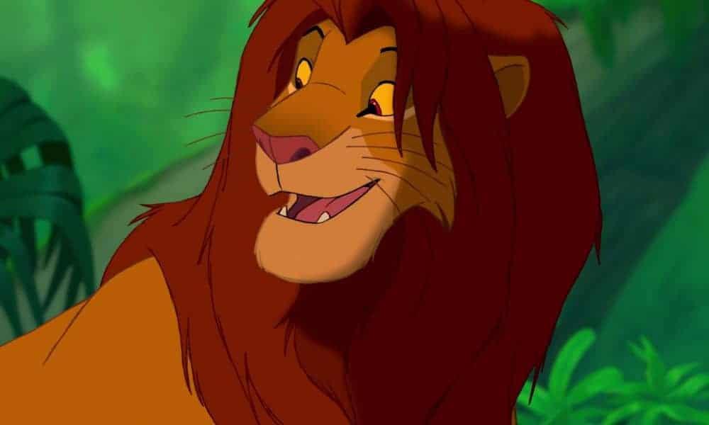 Lion King Characters Lion King Grey Kids Tee