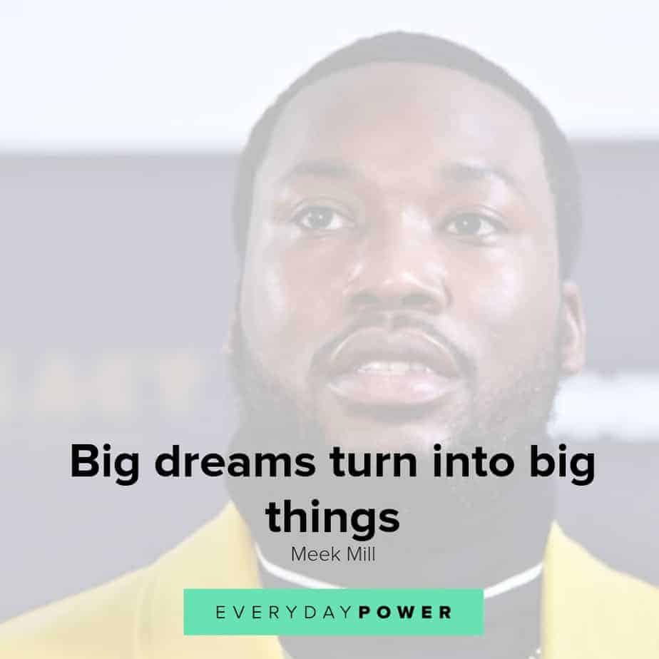 meek mill quotes about dreams