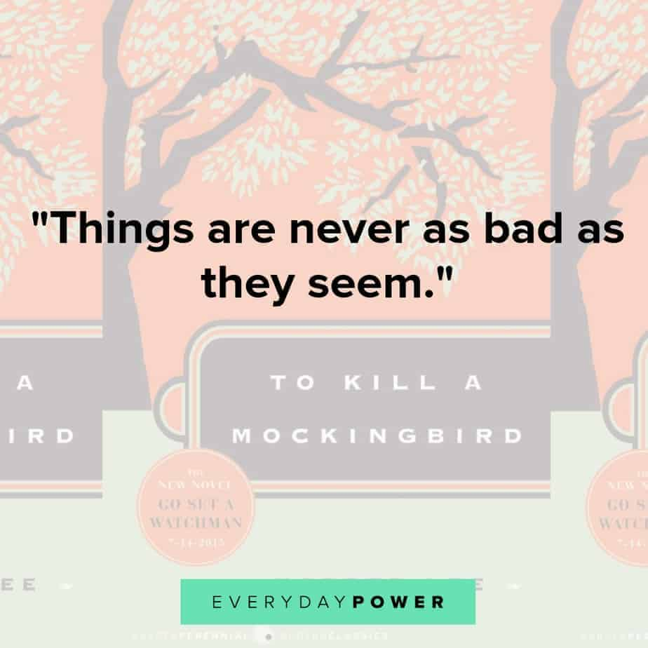 to kill a mockingbird quotes about life