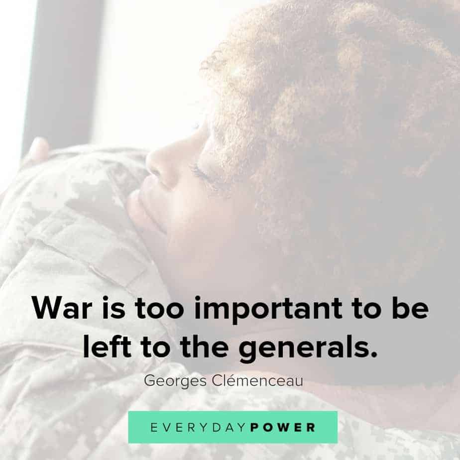 military quotes about the generals