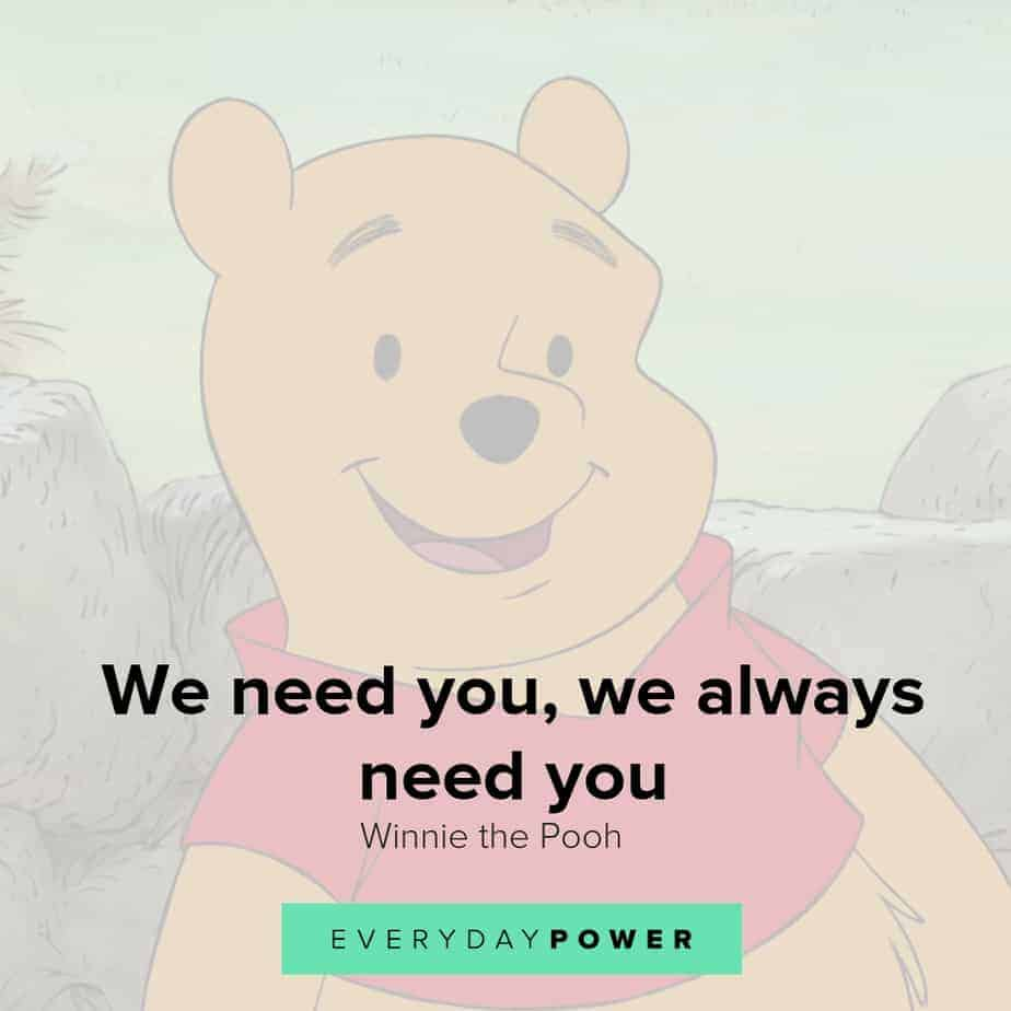 uplifting winnie the pooh quotes