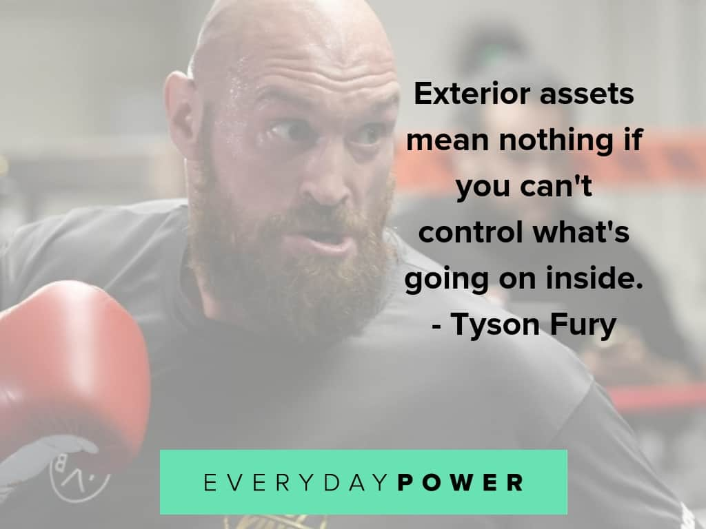 tyson fury quotes on mental health