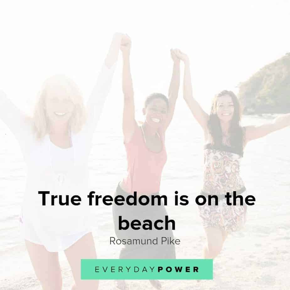 Beautiful beach quotes for your inspiration