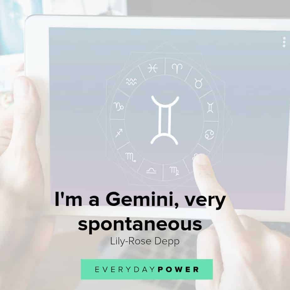 30 Gemini Quotes and Sayings Celebrating Life and Love (2019)