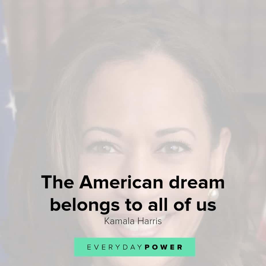 thought-provoking and galvanizing Kamala Harris quotes