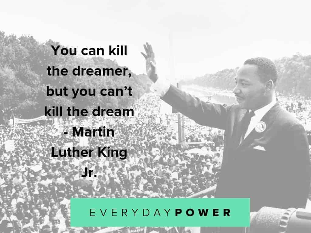 Martin Luther King Jr. quotes celebrating hope and dignity