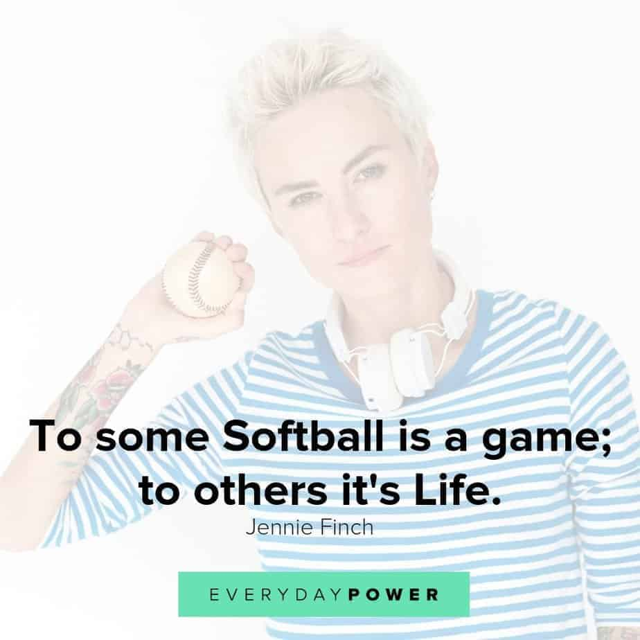 softball quotes to inspire and motivate