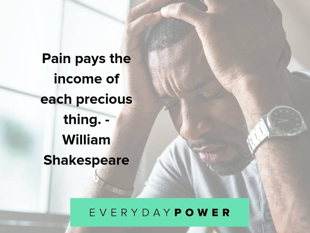 pain quotes to inspire and teach