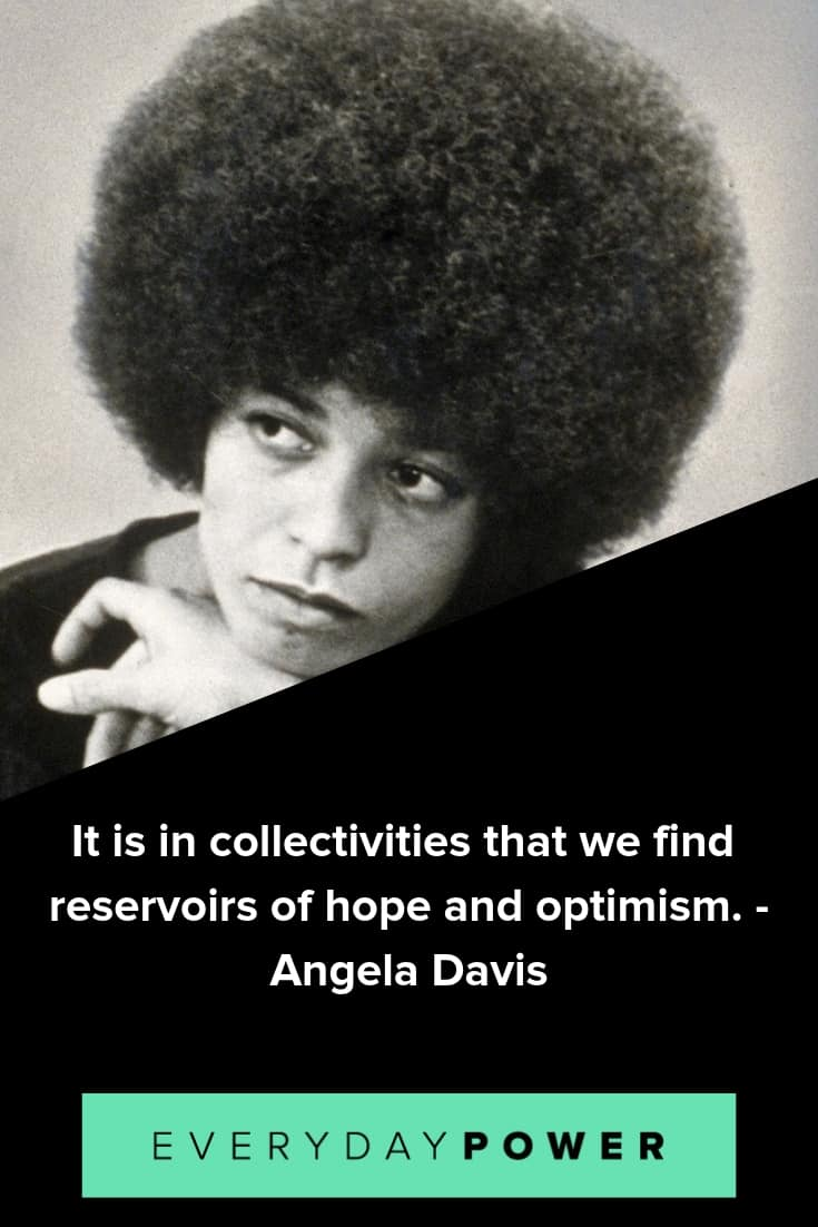 Angela Davis quotes on caring about the issues that are affecting people today