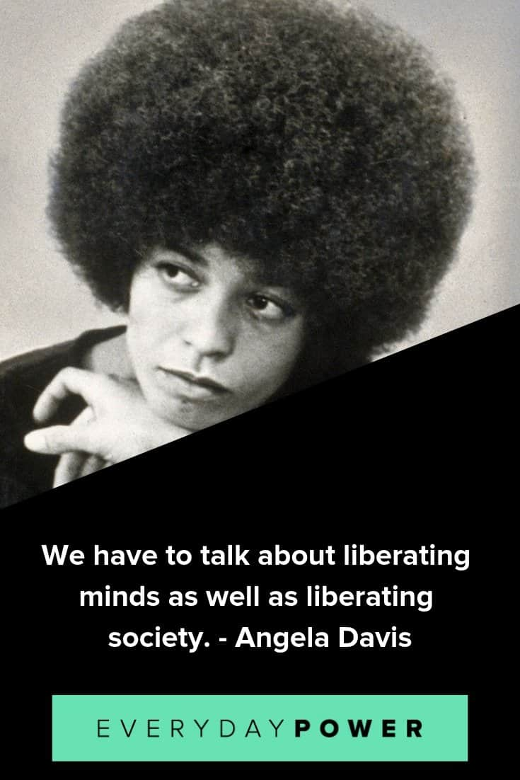 Angela Davis quotes celebrating identity and integrity