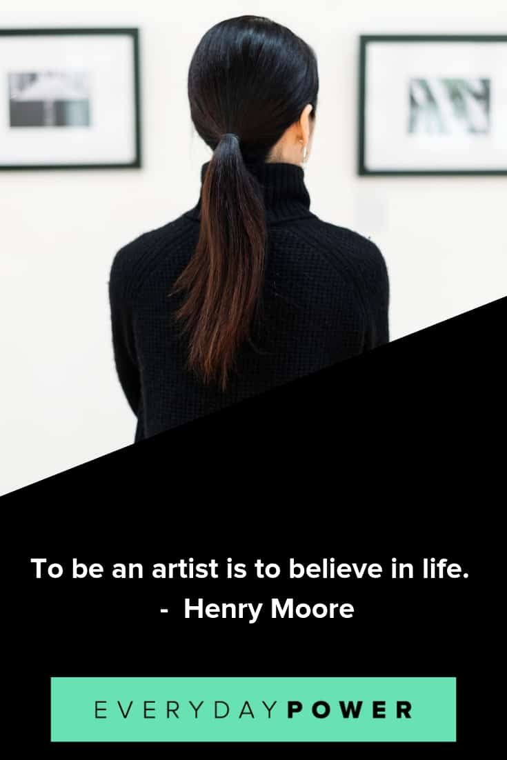 art quotes to inspire and motivate