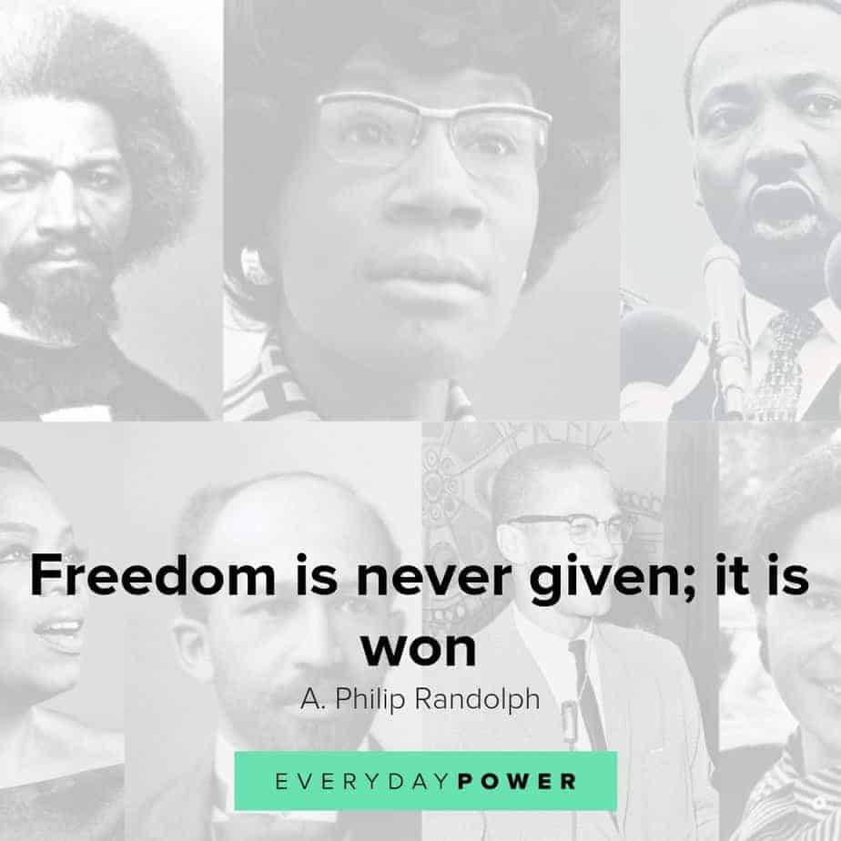 Black History Month quotes Celebrating African American Contributions