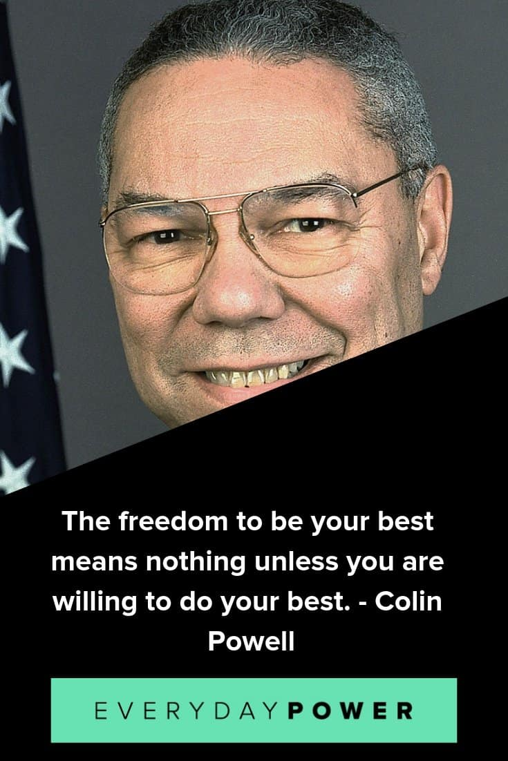 Colin Powell quotes that will inspire you to make your dreams a reality