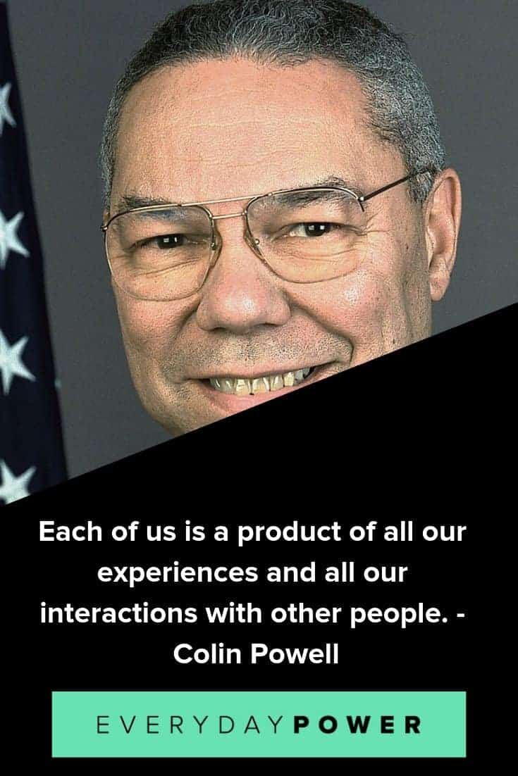 Colin Powell quotes on hard work and success